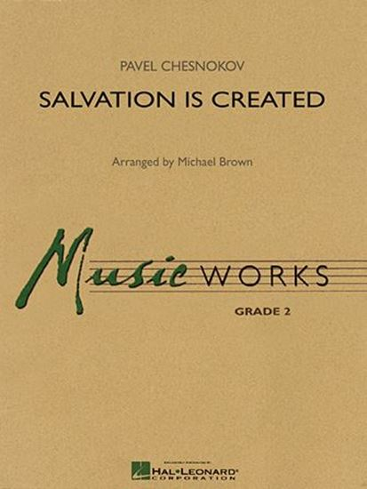 Picture of Salvation Is Created - Full Score