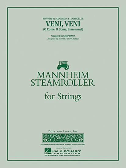 Picture of Veni, Veni (O Come, O Come Emmanuel) - Violin 3 (Viola Treble Clef)
