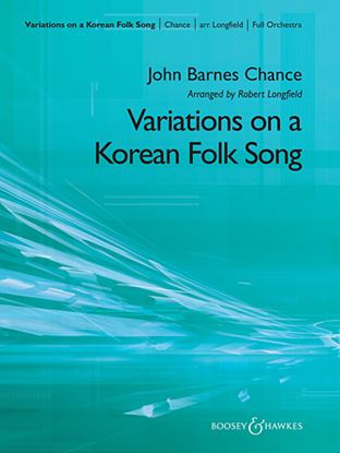 Picture of Variations on A Korean Folk Song - Oboe
