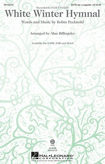 Picture of White Winter Hymnal (arr. Alan Billingsley)