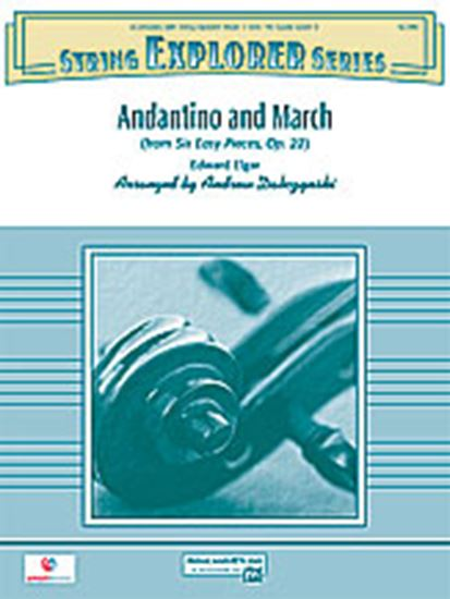 Picture of Andantino and March: 3rd Violin (Viola [TC])