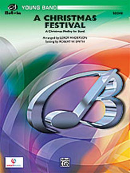 Picture of A Christmas Festival: E-flat Baritone Saxophone