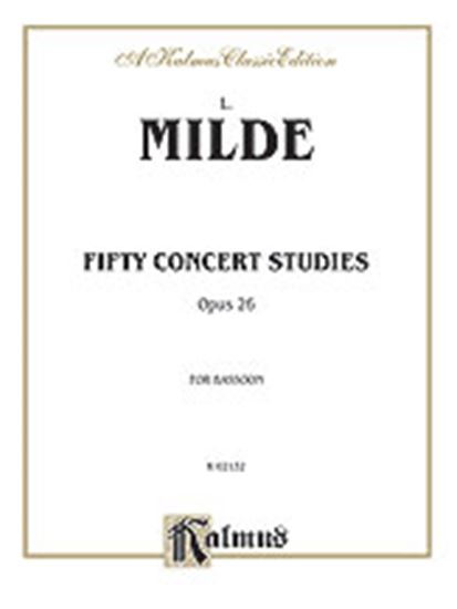 Picture of Milde: Fifty Concert Studies, Op. 26