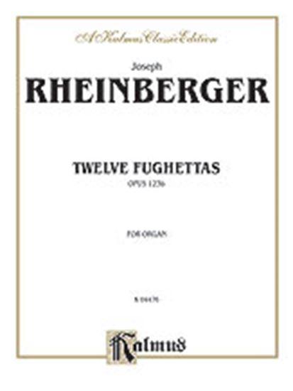 Picture of Rheinberger: Twelve Fughettas, Op. 123B