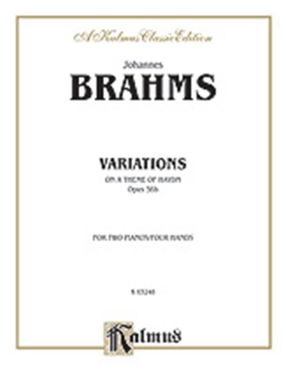Picture of Brahms: Variations on a Theme of Haydn, Op. 56B (Original)