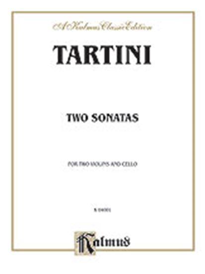 Picture of Tartini: Two Sonatas for String Trio (Score & Parts)