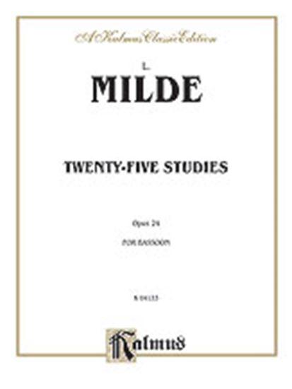 Picture of Milde: Twenty-five Studies, Op. 24