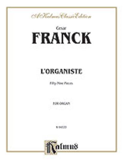 Picture of Franck: L'Organiste