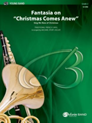 """Picture of Fantasia on """"Christmas Comes Anew"""": Score"""