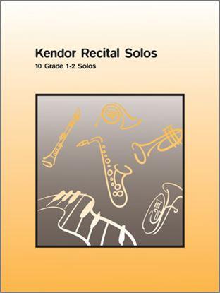 Picture of Kendor Recital Solos - Eb Alto Saxophone - Solo Book