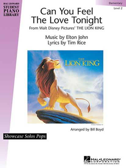 Picture of Can You Feel The Love Tonight (from The Lion King) (arr. Bill Boyd)