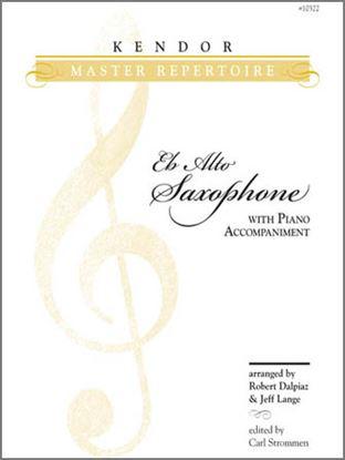 Picture of Kendor Master Repertoire - Alto Saxophone - Solo Eb Alto Saxophone