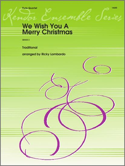 Picture of We Wish You A Merry Christmas - 1st Flute