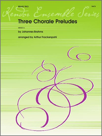 Picture of Three Chorale Preludes