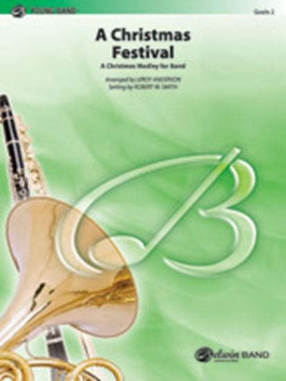 Picture of A Christmas Festival: (wp) 1st B-flat Trombone B.C.