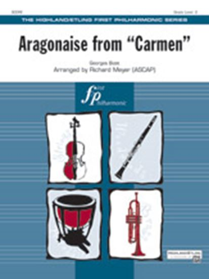Picture of Aragonaise from Carmen: 2nd B-flat Clarinet