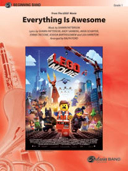 Picture of Everything Is Awesome (Awesome Remixxx!!!) (from The Lego® Movie): B-flat Tenor Saxophone