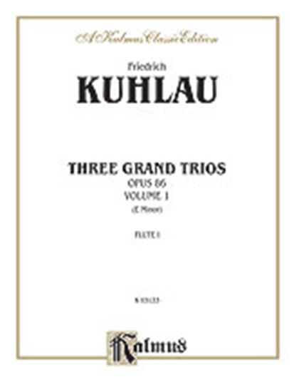 Picture of Kuhlau: Three Grand Trios, Op. 86 (Volume I, E Minor)