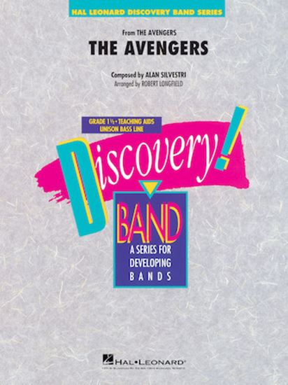 Picture of The Avengers - Bb Clarinet 2