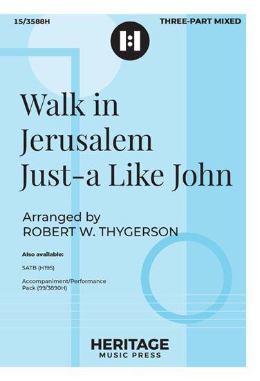 Picture of Walk in Jerusalem Just-a Like John