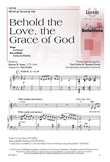 Picture of Behold the Love, the Grace of God