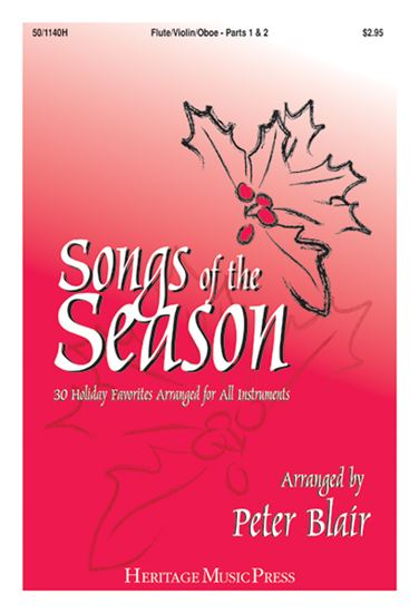 Picture of Songs of the Season - Flute/Violin/Oboe (Parts 1 & 2)