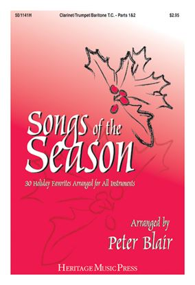 Picture of Songs of the Season - Clarinet/Trumpet/Baritone T.C. (Parts 1 & 2)