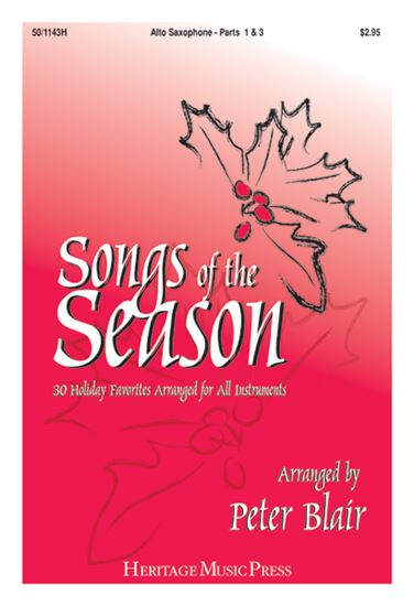 Picture of Songs of the Season - Alto Saxophone (Parts 1 & 3)