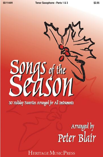 Picture of Songs of the Season - Tenor Saxophone (Parts 1 & 3)