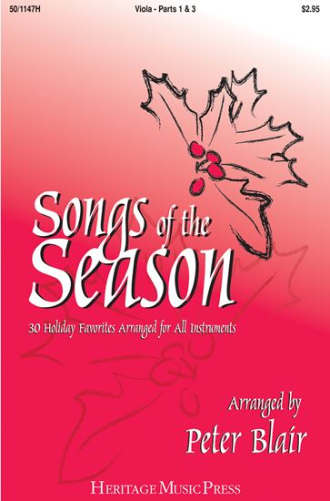 Picture of Songs of the Season - Viola (Parts 1 & 3)