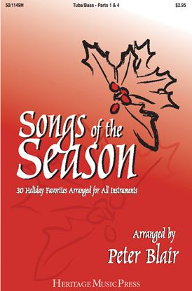 Picture of Songs of the Season - Tuba (Parts 1 & 4)