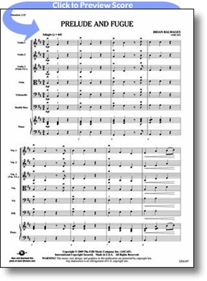 Picture of Prelude and Fugue