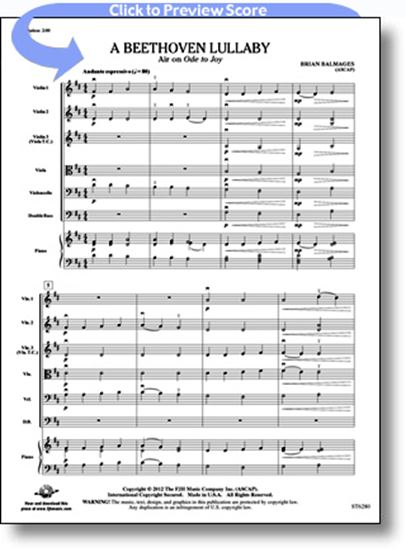 Picture of A Beethoven Lullaby
