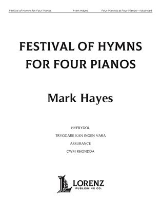 Picture of Festival of Hymns for Four Pianos