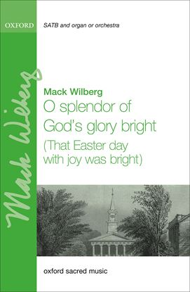 Picture of O splendor of God's glory bright (That Easter day with joy was bright)