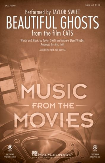 Picture of Beautiful Ghosts (from the Motion Picture Cats) (arr. Mac Huff)