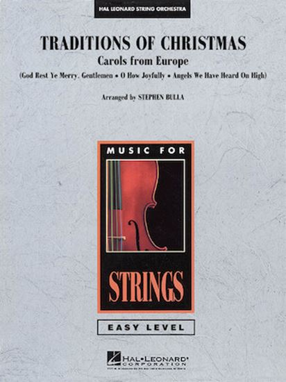 Picture of Traditions Of Christmas (Carols From Europe) - Violin 1