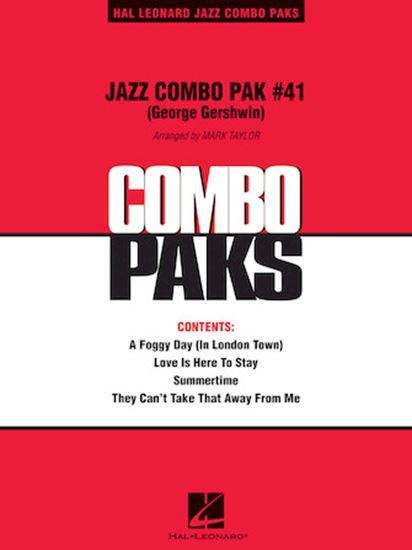 Picture of Jazz Combo Pak #41 (George Gershwin)