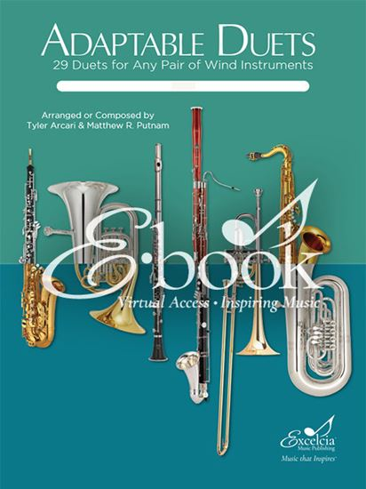 Picture of Adaptable Duets 29 Duets for Any Pair of Wind Instruments