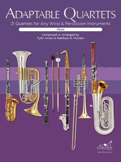 Picture of Adaptable Quartets for Oboe