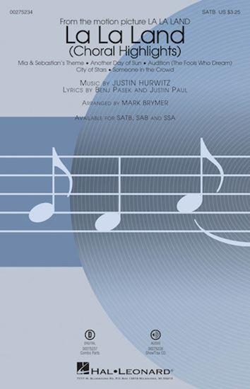 Picture of La La Land: Choral Highlights (arr. Mark Brymer)