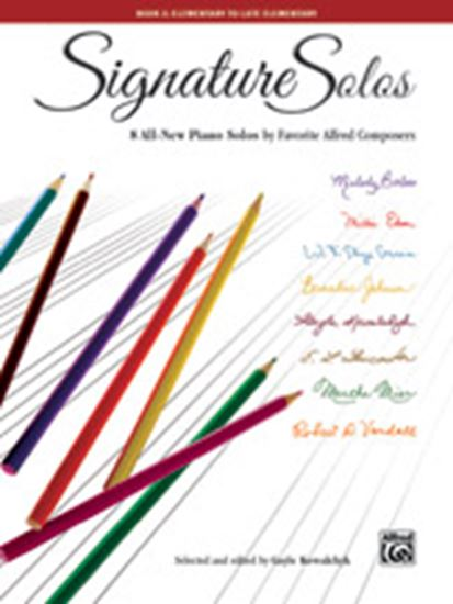 Picture of Signature Solos, Book 2: 8 All-New Piano Solos by Favorite Alfred Composers