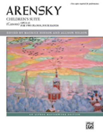 Picture of Arensky: Children's Suite (Canons), Opus 65 - Piano Duo (2 Pianos, 4 Hands)