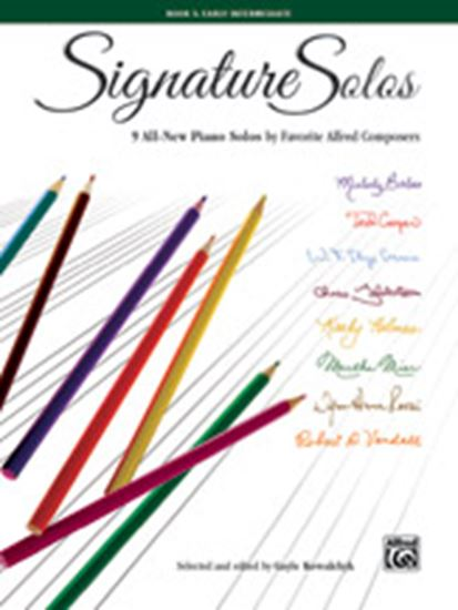 Picture of Signature Solos, Book 3: 9 All-New Piano Solos by Favorite Alfred Composers