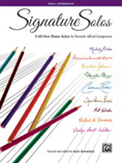 Picture of Signature Solos, Book 4: 9 All-New Piano Solos by Favorite Alfred Composers