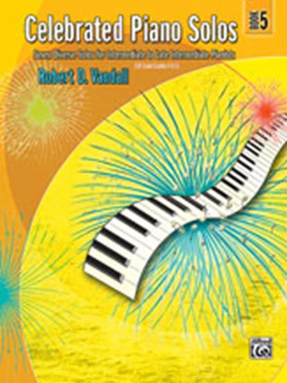 Picture of Celebrated Piano Solos, Book 5: Seven Diverse Solos for Intermediate to Late Intermediate Pianists