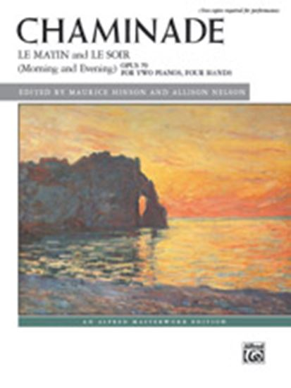 Picture of Chaminade: Le matin and Le soir (Morning and Evening), Opus 79 - Piano Duo (2 Pianos, 4 Hands)