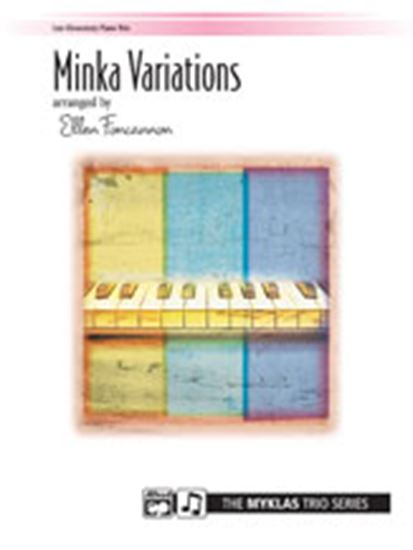 Picture of Minka Variations - Piano Trio (1 Piano, 6 Hands)