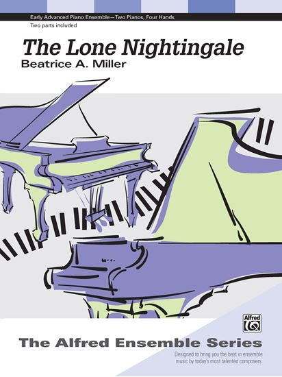 Picture of The Lone Nightingale - Piano Duo (2 Pianos, 4 Hands)
