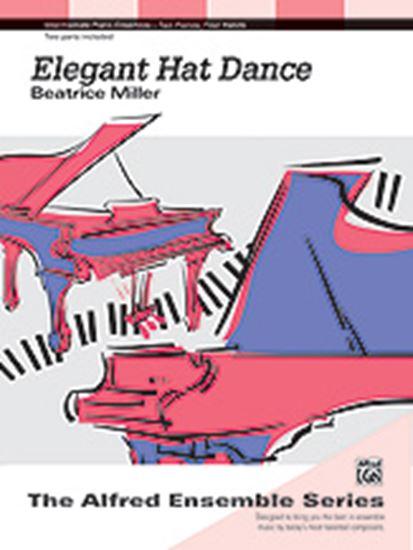 Picture of Elegant Hat Dance - Piano Duo (2 Pianos, 4 Hands)